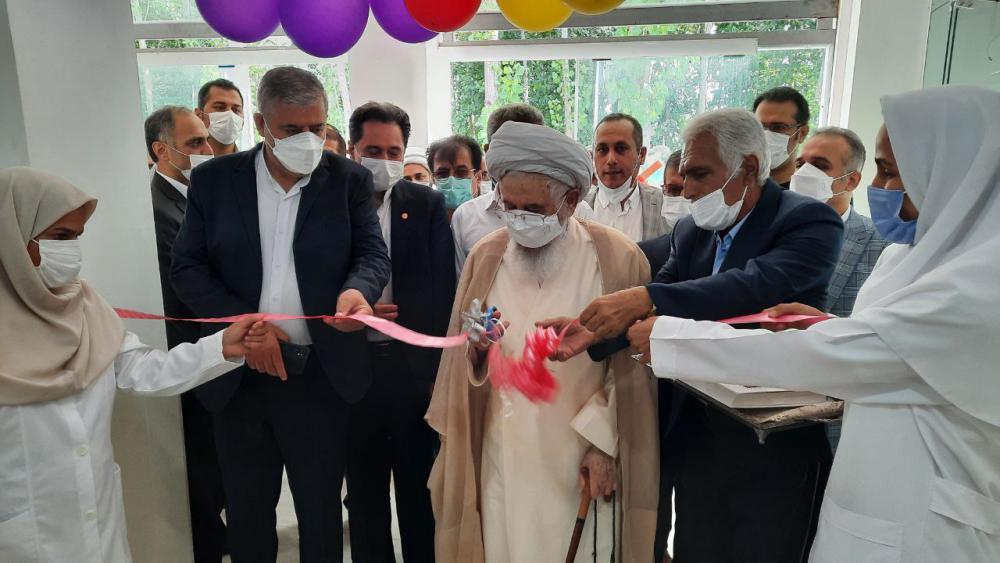 افتتاح فاز دوم آسایشگاه سالمندان شرق گیلان